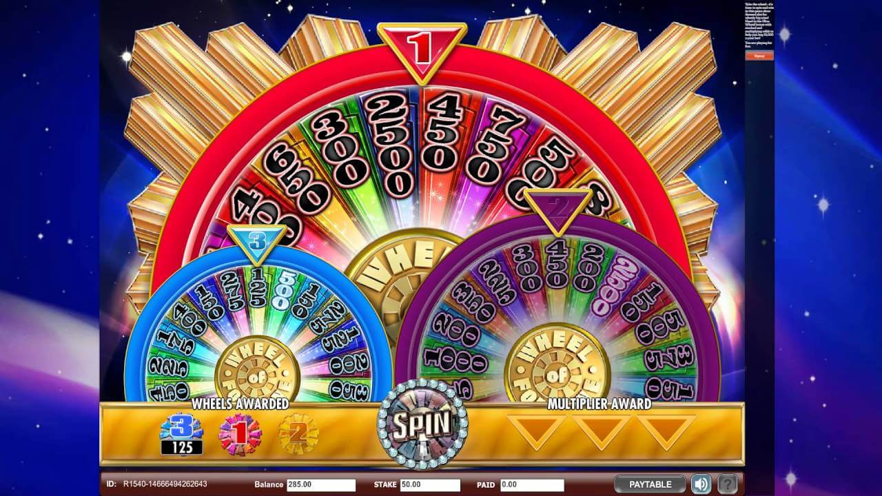 Wheel of fortune app -
